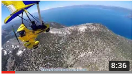 Paul Hamilton Flying His Revo To Lake Tahoe With GoPro, Part 1 Of 3