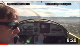Flight Simulator And Real Airplane Side By Side Comparison: Zodiac 601-650