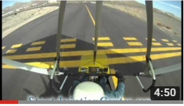 Trike Flying: Part 1, Airport Taxi Takeoff Carson City Nevada